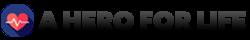 a hero for life logo final